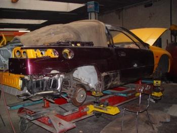 Garage Carrosserie   Terryn - Deurne - Galerij