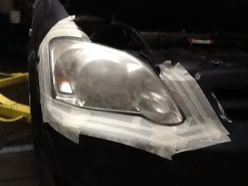 Garage Carrosserie Terryn - Opkuisen lampen